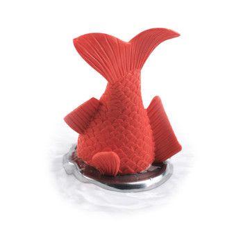 Stuck Goldfish Bath Plug  by Slam Design  $9.50