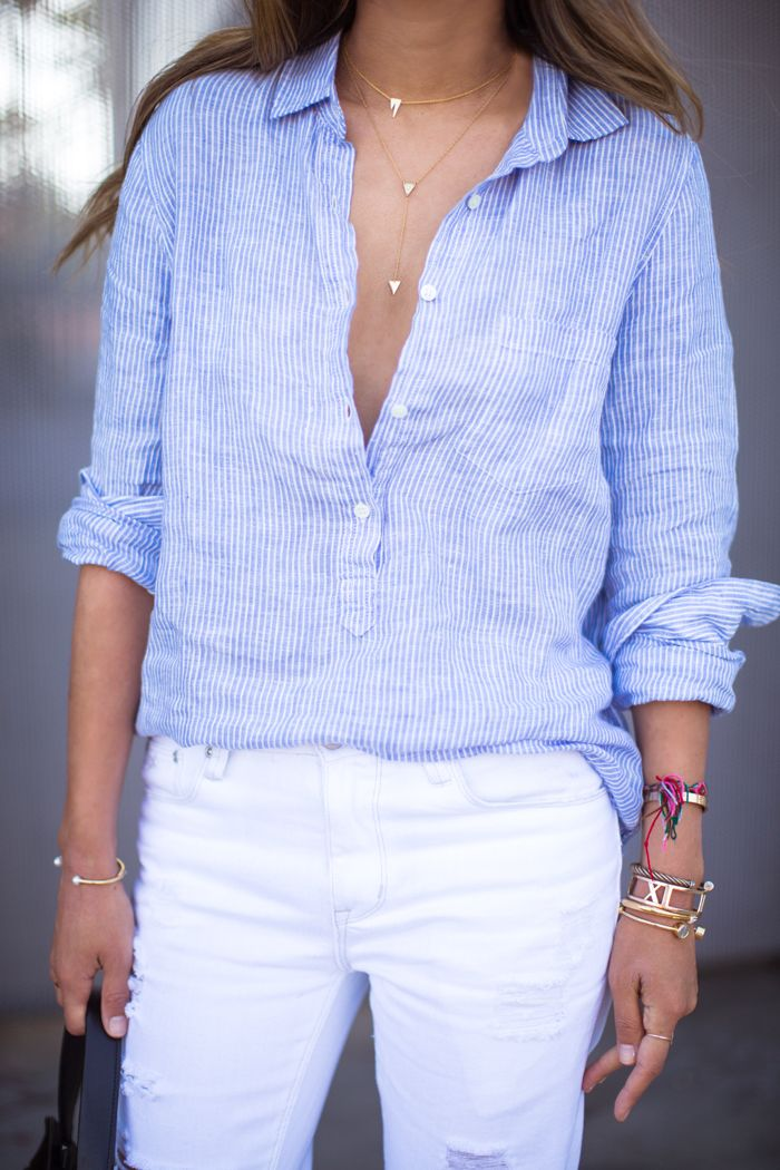 Linen shirt<3