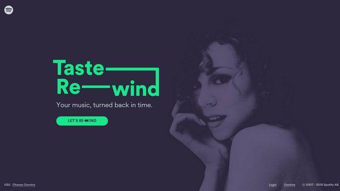 Taste Rewind es la nueva sección de Spotify para obtener listas de reproducción con fabulosos oldies | GeeksRoom
