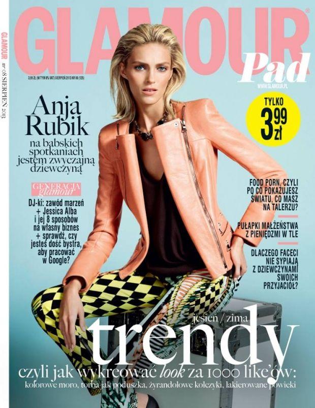 Anja Rubik for Glamour Poland