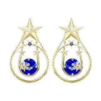 Boucles D'Oreilles Clip N° 195 Stella http://www.reminiscence.fr/fr/mode/bijoux-eshop/bijoux-fantaisie/Stella-liste.htm?var=page-edito #bijoux #Reminiscence #Reminiscenceparis