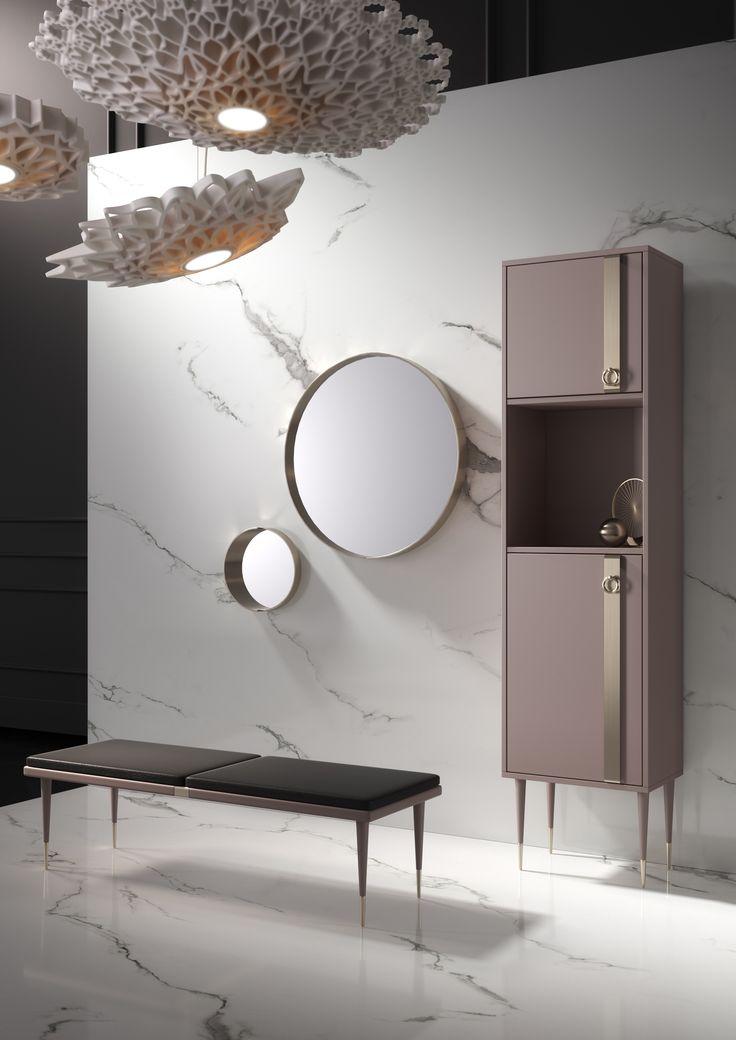 Tribeca - furniture for bathroom by Dima Loginoff for italian brand Mia Italia dimaloginoff.com miaitaliabath.it