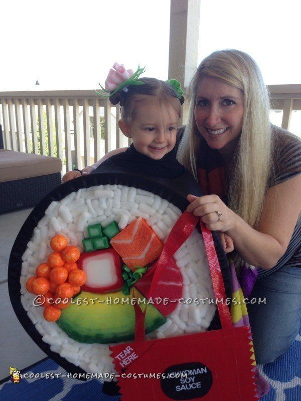 Cutest Toddler Sushi Costume