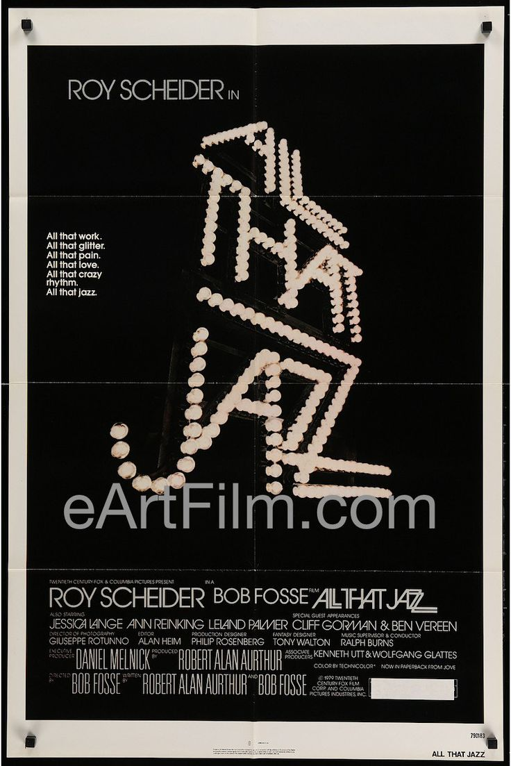 Happy Birthday #JessicaLange https://eartfilm.com/search?q=jessica+lange #actors #acting #Broadway #theater #Feud #KingKong #AllThatJazz #Tootsie #AHS #Frances #film #cinema #movies #posters #movieposters    All That Jazz-1979-27x41-Roy Scheifer-Jessica Lange-Bob Fosse