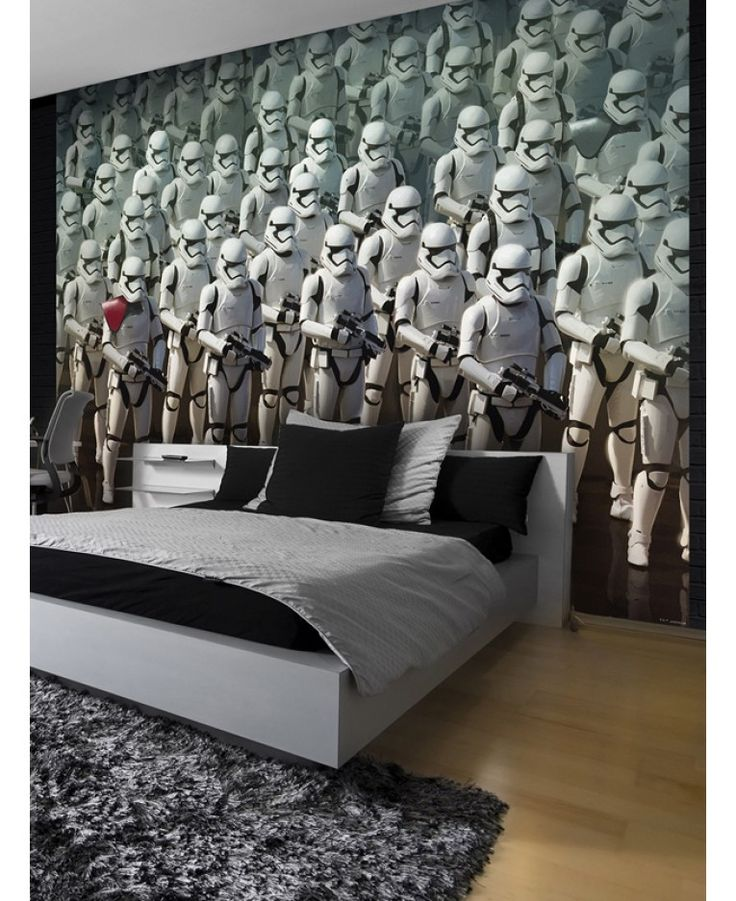 Create An Instant Feature In Any Room With This Awesome Star Wars Wall Mural The