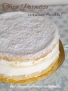 Torta Paradiso gelato - cremosa senza gelatiera