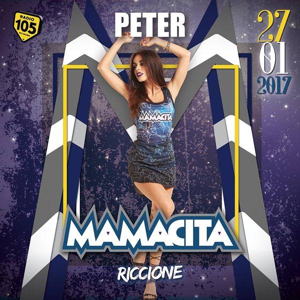 Venerdì 27 gennaio 2017 arriva il primo fuori programma del Peter Pan Riccione. La musica house farà spazio al ritmo latino del party Mamacita.