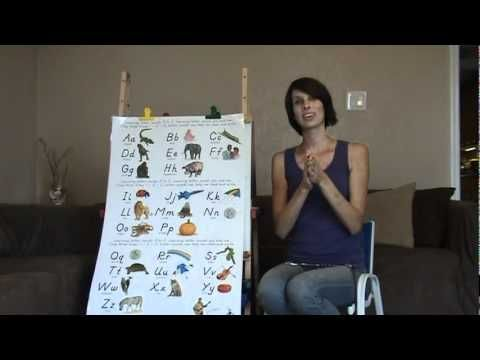 Visual Phonics Song I don't love her explanation but love how beneficial this could be. You can use the entire song or pull the sign used for each sound along with teaching the letter sound. Love it!