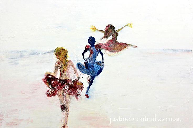 'Dance Away'  Oil on Canvas
