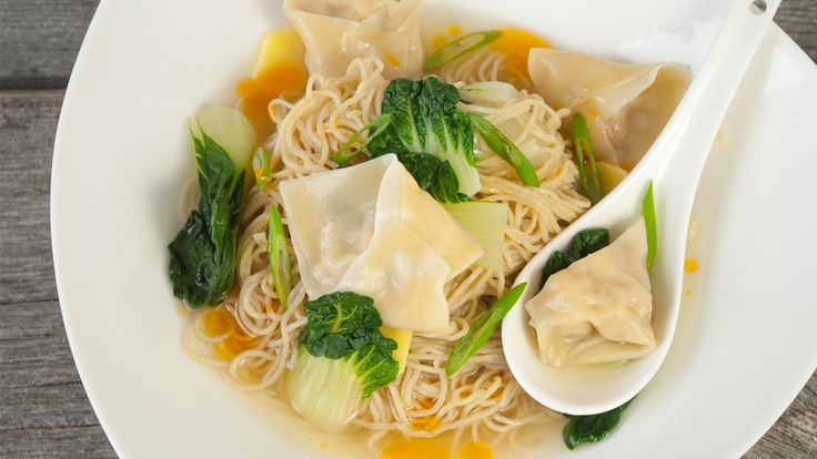 Wonton Soup by Mary Tang