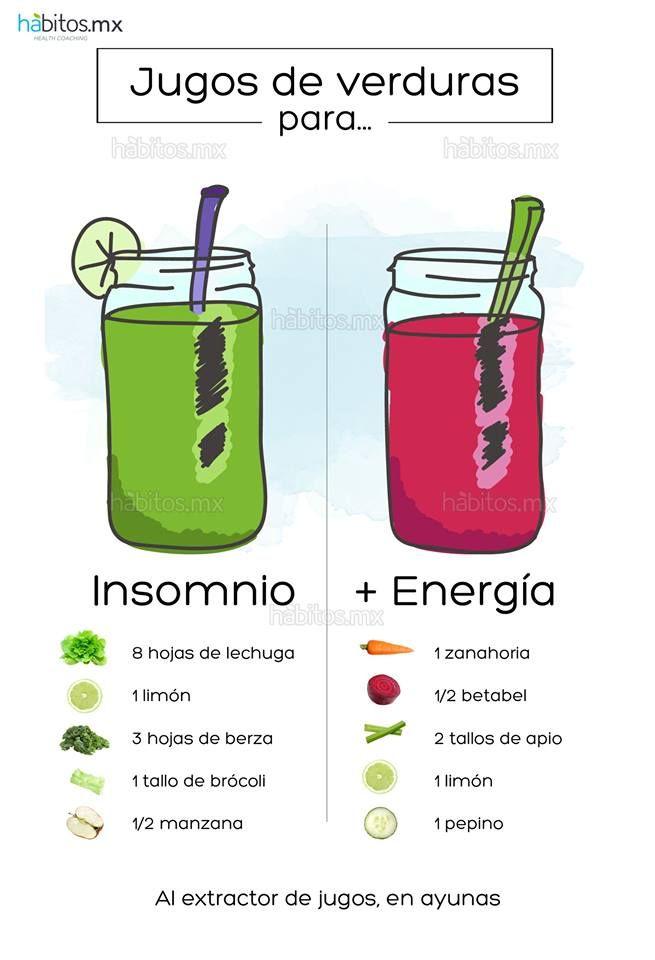 Hábitos Health Coaching | JUGOS DE VERDURAS PARA DAR ENERGÍA/CONTRA EL INSOMNIO