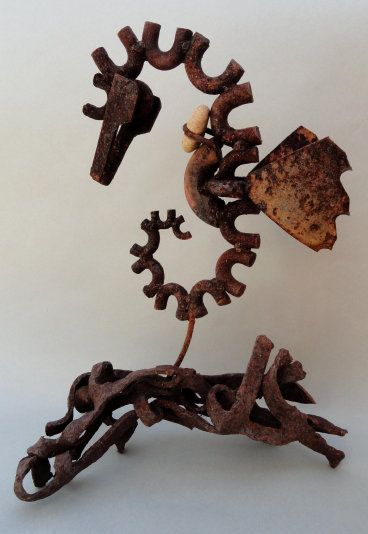 "www.greenlifegallery.com ""Kelp Dragon"". Sells for $150."