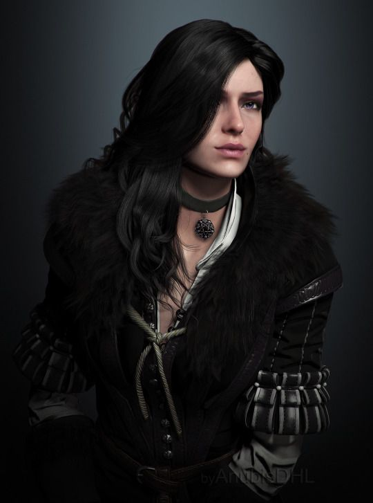 Yennefer of Vengerberg (Witcher 3) I absolutely love her style! And her hair!