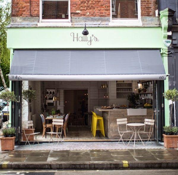 Virlova Interiorismo: [Places] Hally's Café, un encantador deli con aire vintage