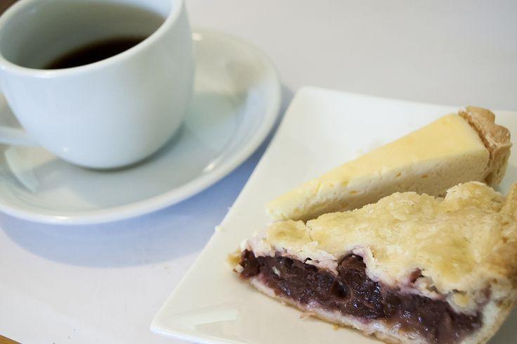 matsunosuke cherrypie, recoctacheese tarte and bufcoffee[ruwanda]