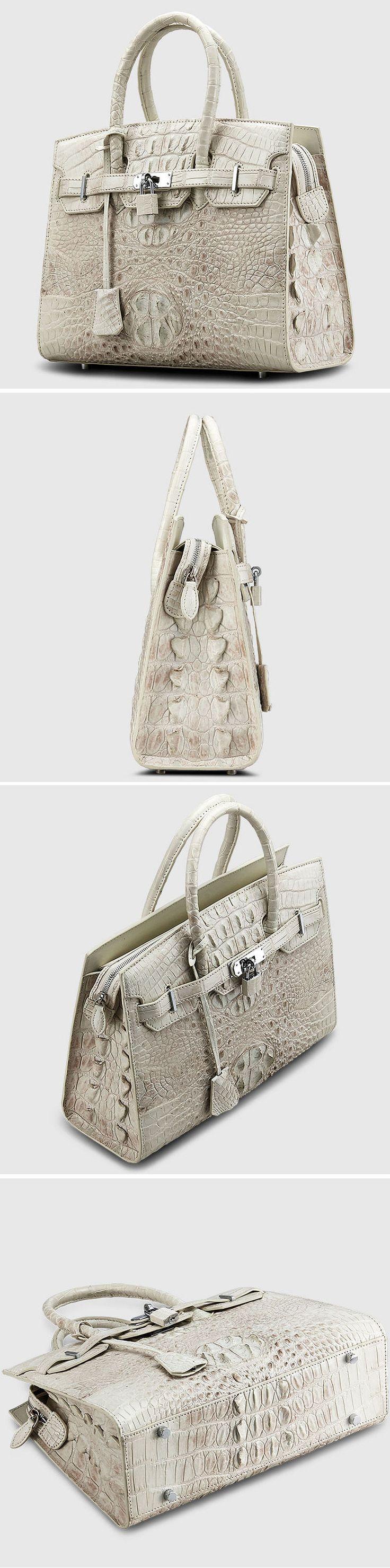 Crocodile Handbag, Crocodile Purse, Luxury Crocodile Handbag