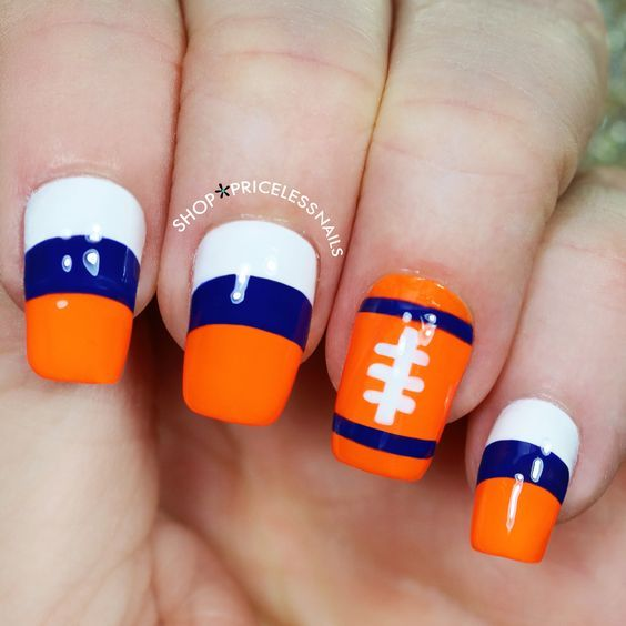 191 best cute nail designs images on pinterest nailart accent 30 football nail designs for football lovers naildesignideaz naildesign nailart footballnaildesign prinsesfo Gallery