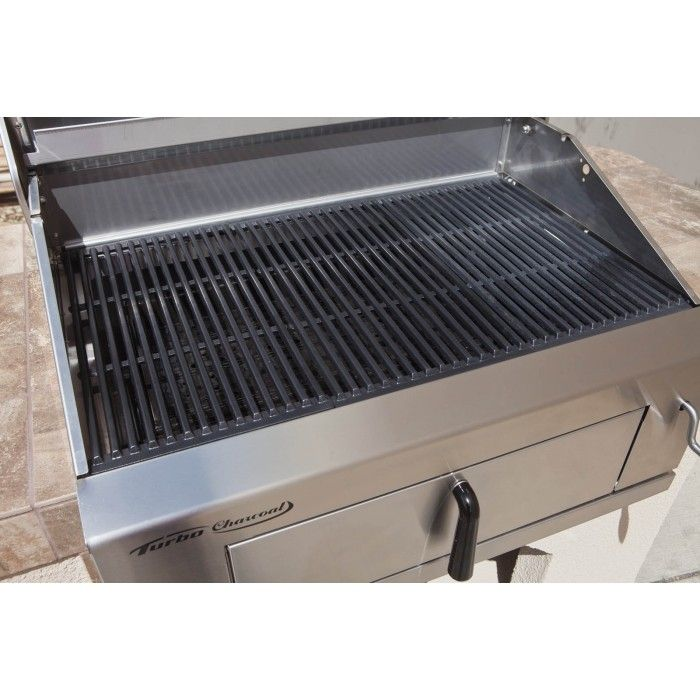 Turbo charcoal stainless steel grill bbq grills