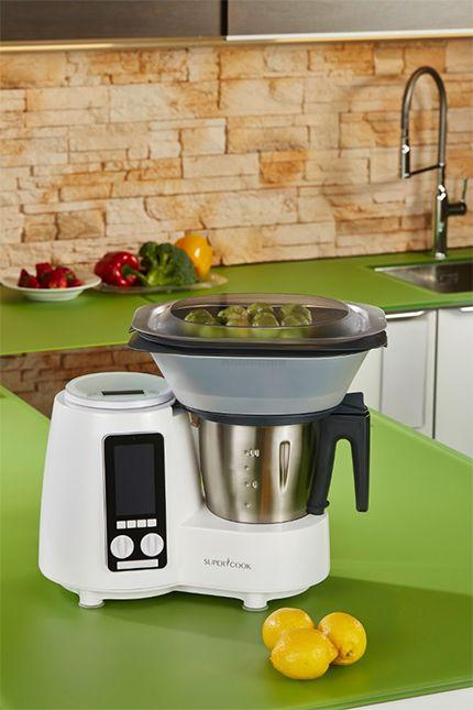 Siméo Délimix QC360C robot cuiseur multifonctions facilite la préparation et la cuisson de vos aliments avec un bol inox de 2 litres et 10 vitesses en plus la fonction pulse