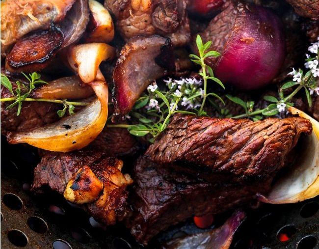 Ленивый шашлык из говядины, рецепт приготовления - Портал «Домашний»