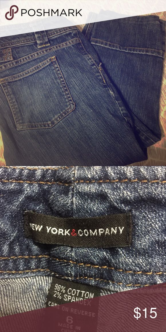 Woman's Capri jeans Great condition women's Capri jeans New York & Company Jeans Ankle & Cropped