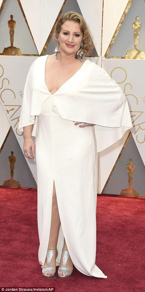 All white: Actress Auli'i Cravalho and Mandy Moore, the choreographer behind La La Land's ...