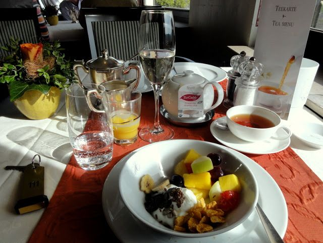 Travel and Lifestyle Diaries Blog: Ahr Valley: A Nice Weekend and Champagne Breakfast at Restaurant Hotel Hohenzollern an der Ahr