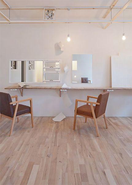 美容室,美容院,理容室,内装,施工例