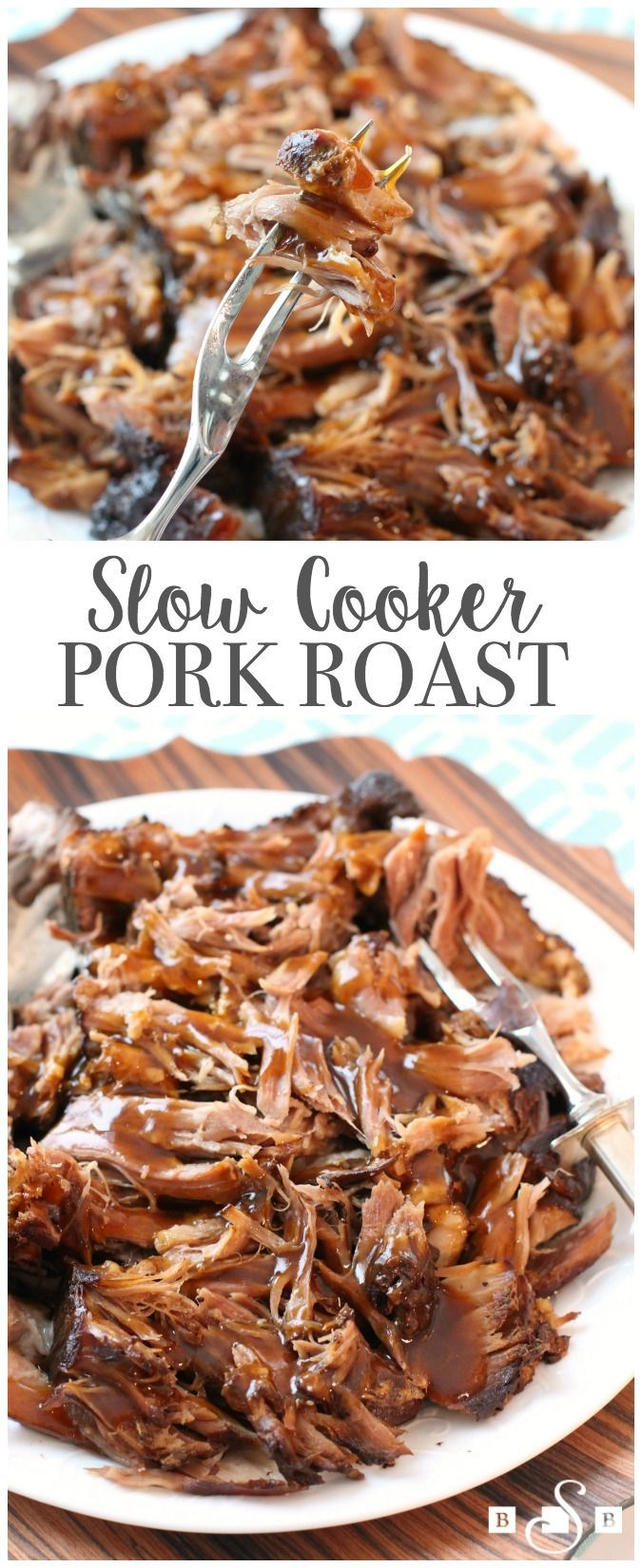 Slow Cooker Pork Roast - Butter With A Side of Bread