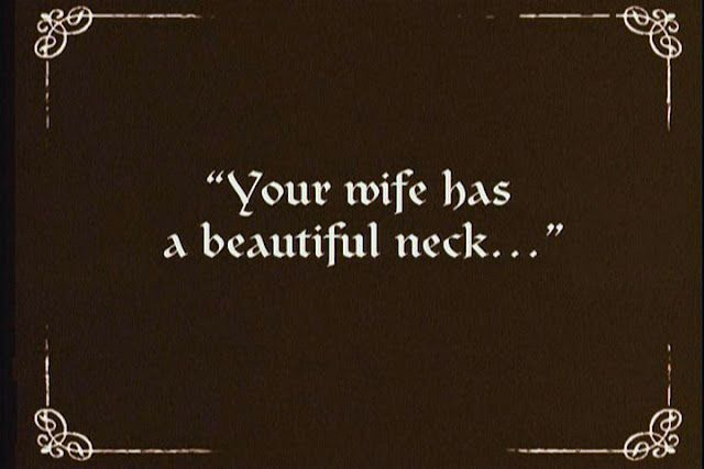 beautiful neck... sounds like a good way to get someone really angry