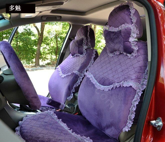 purple seat covers | ... 0002722518012014 name lace flower universal automobile car seat cover