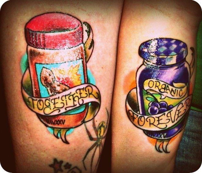 10 Awesome and Romantic Couples' Tattoos - PBJ