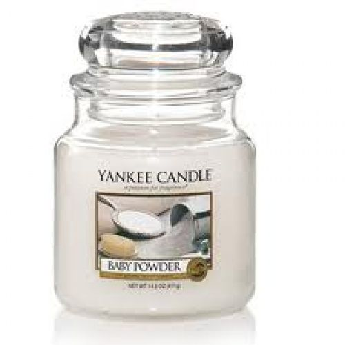 Yankee Candle  Baby Powder  Housewarmer Jar