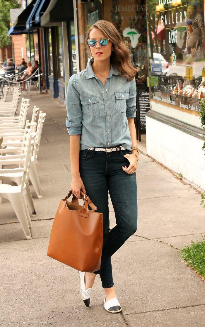 chambray and denim  ..y..alpargatas!!!