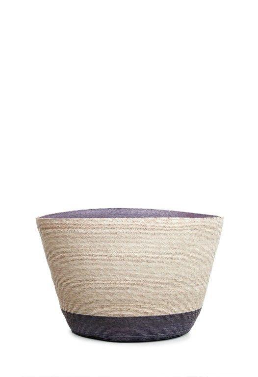 Round Straw Basket - Large