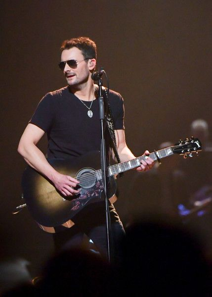 Eric Church Photos Photos - Musician Eric Church performs during his Holdin' My Own Tour at Barclays Center on January 27, 2017 in the Brooklyn borough of New York City. - Eric Church Holdin' My Own Tour - Brooklyn, New York