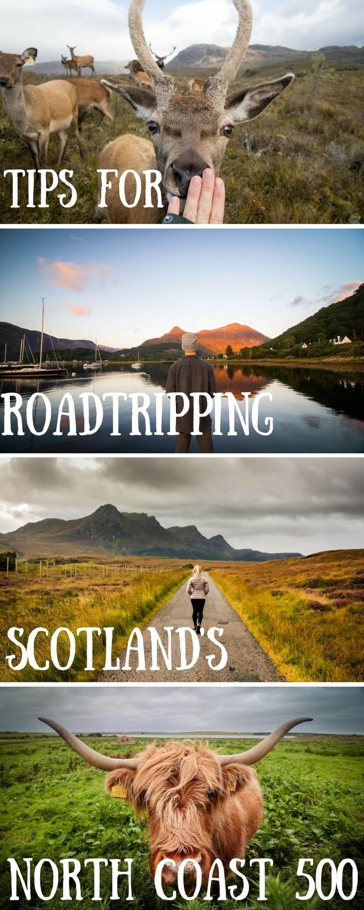 All you need to know for traveling and road tripping around the Scottish Highlands. What to do, where to stay and how to plan a North Coast 500 Trip in Europe!