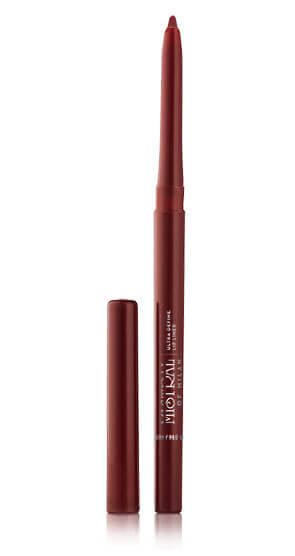 Creamy Soft, Waterproof, Semi-Matte  Finish and Even Colour Pay-Off.   Deep Maroon Shade