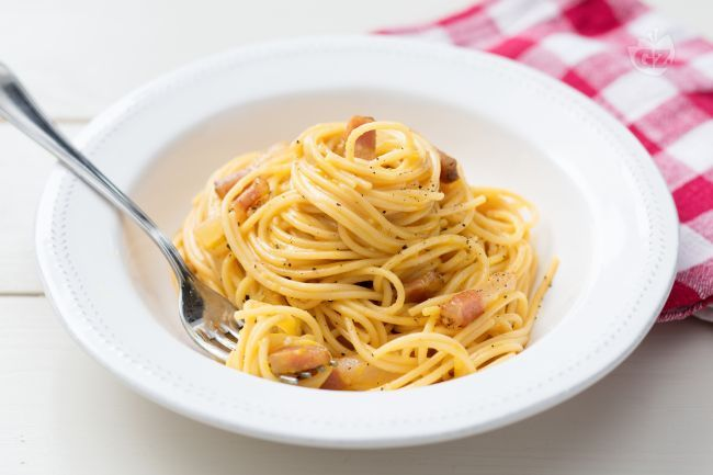 Spaghetti alla Carbonara | Recette | Recette minceur
