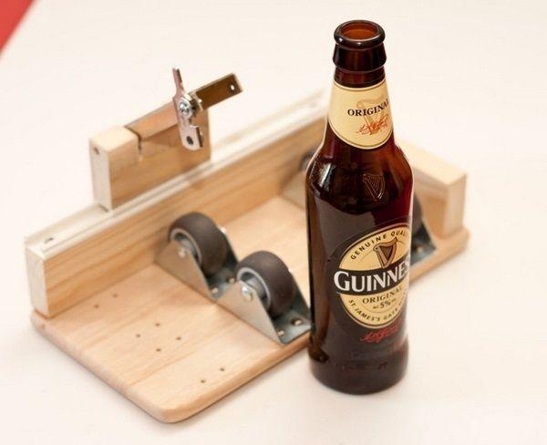 Lampe de bouteille bricolage outil de coupe bouteille de bière en verre DIY facile