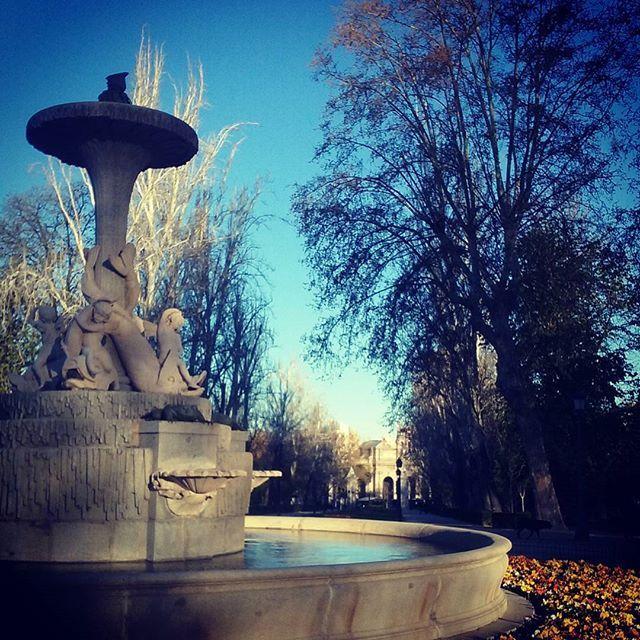 La #primavera en todo su esplendor. #Madrid
