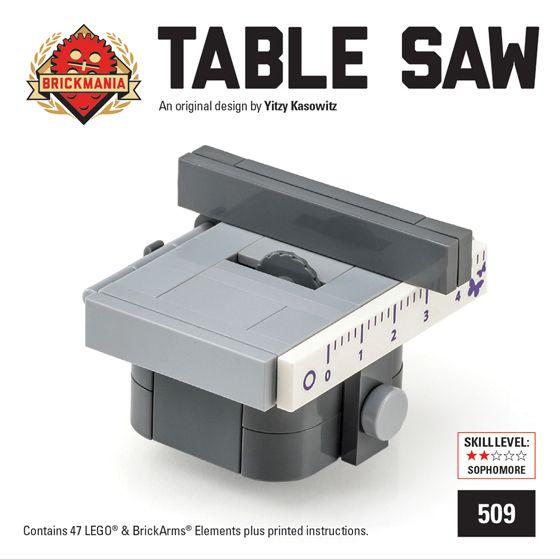 New Mini Kit Release: Table Saw | Brickmania Blog