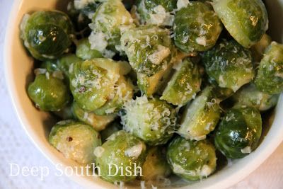 how to eat steamed brussel sprouts