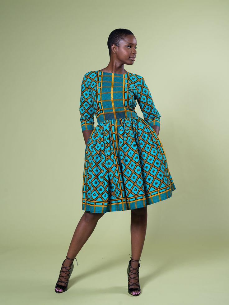NYLA AFUA DRESS – Zuvaa