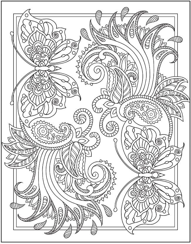 195 best paisley images on Pinterest | Coloring books, Coloring ...