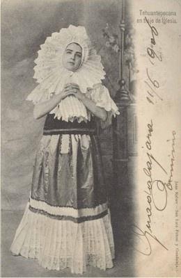 Juan Kaiser. Tehuana. 1906. Mexico.