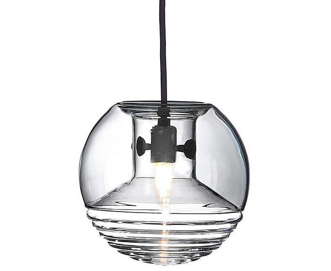 Lámpara de techo de cristal, elegante y moderna