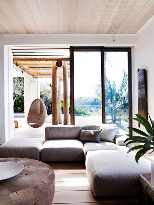 ♂ neutral interior design living room with organic life style A STUNNING SYDNEY HOME