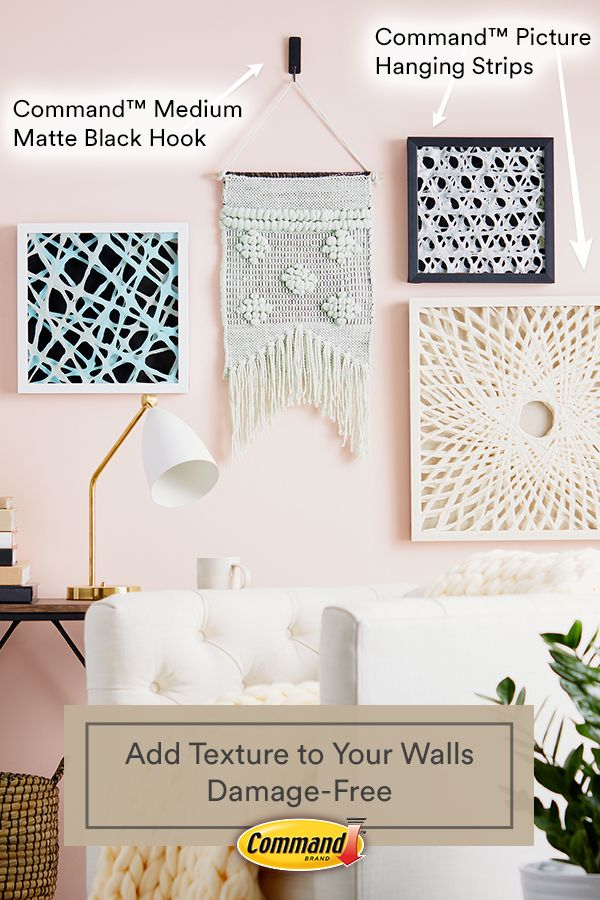 Display your macrame wall hanging and framed