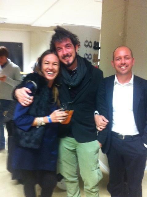 Paolo Ruffini presente lancio brand Boucanier27